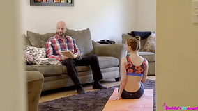 Bearded man can't resist fucking young stepdaughter
