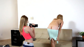 Tittied Alli Rae got fucked at the casting session