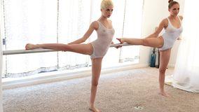 Splendid ballerinas try threesome with choreographer