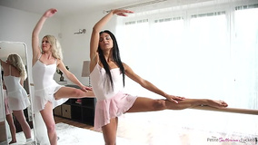 Mutual passion forced chicks to interrupt ballet training
