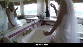 Best man fucks beautiful bride and her bridesmaids