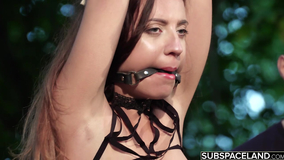 Fan of BDSM prepares flogger and hot wax for lovely
