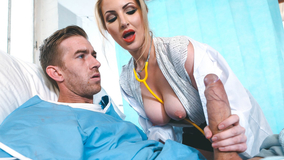 Busty nurse getting fucked by her hung patient