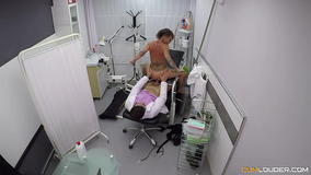 The doctors office leads to sex for an inked up babe